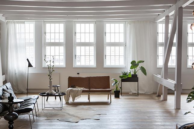 modern rustic industrial interior design