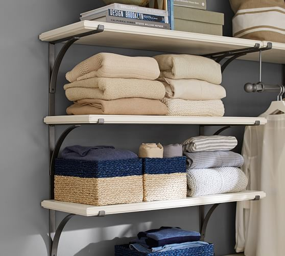 small wall unit shelves