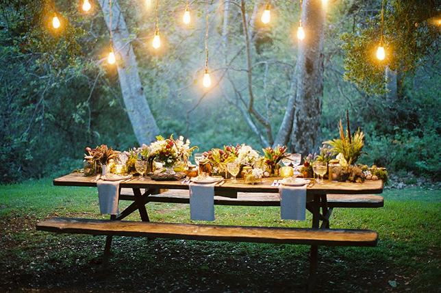Summer lighting party ideas