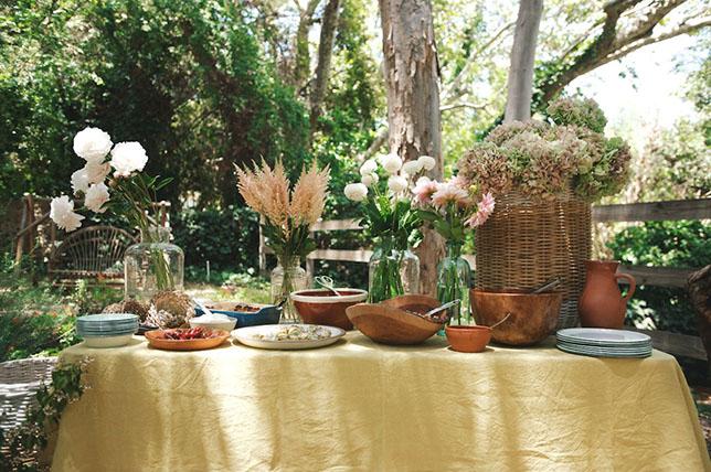 Summer party ideas for the garden