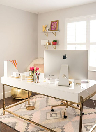 Small home office decoration ideas