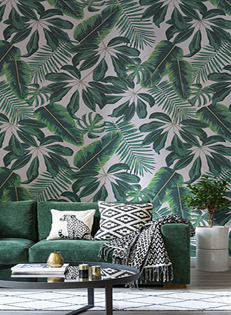 Inspiration for tropical decor accessories