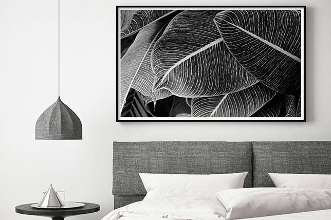tonal tropical minimal interior design