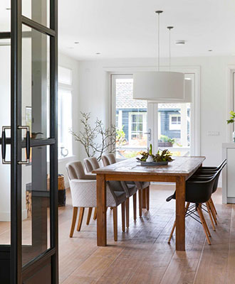 Home interior design rules for breaking dining tables that don't fit