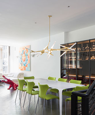 Breaking home interior design rules will add splashes of color to any room