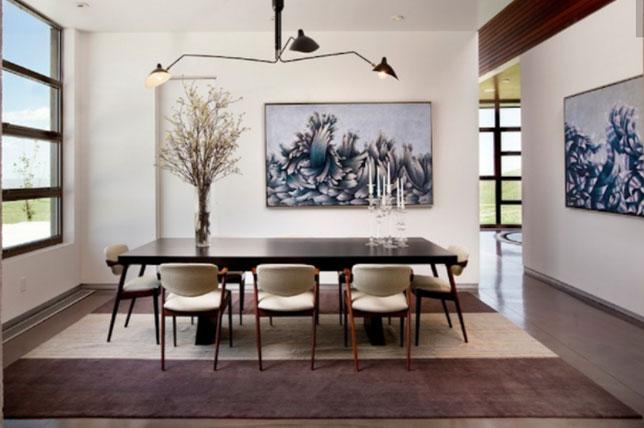 Home interior design rules to break asymmetry