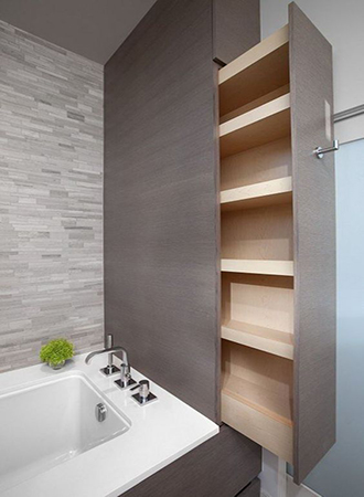Bathroom storage renovation ideas