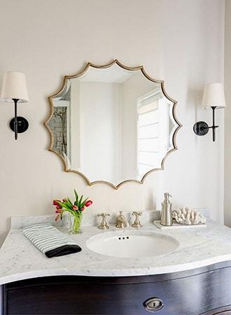 Bathroom mirror that decorates trends
