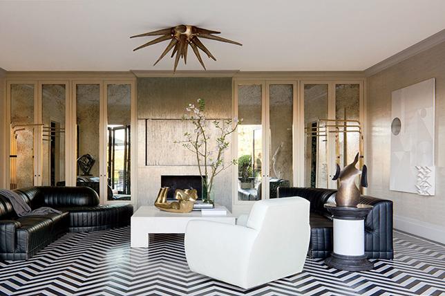 Floor interior design trends make a statement