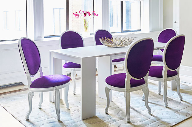Add color to your interior design for your wellbeing