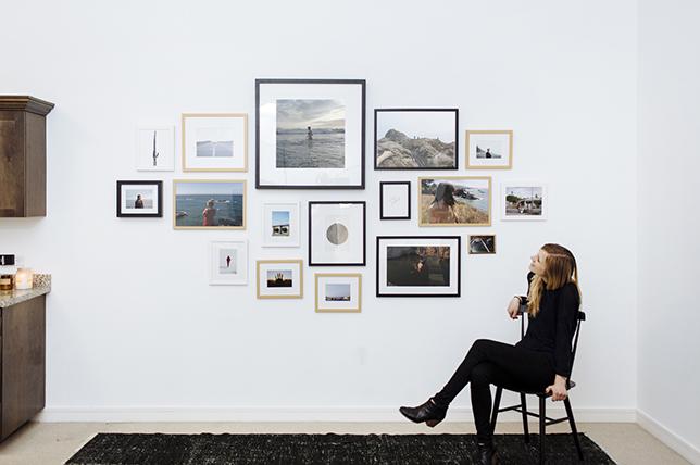 Gallery wall design inspiration