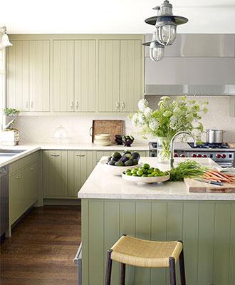 Kitchen interior design trends colorful kitchens