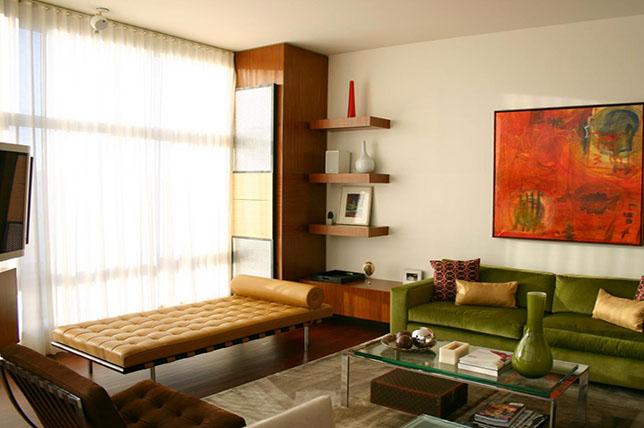 Mid-century modern sofa styles