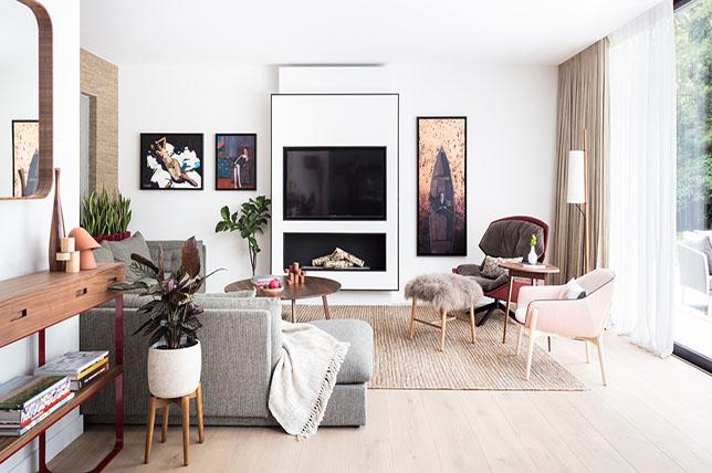 modern family room sofa styles