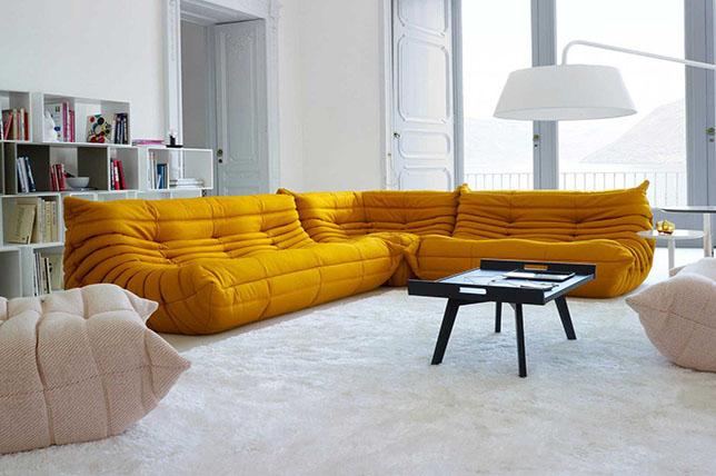 Ligne Roset modern light sofa styles