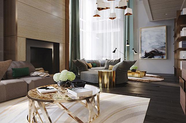 modern upholstered sofa styles