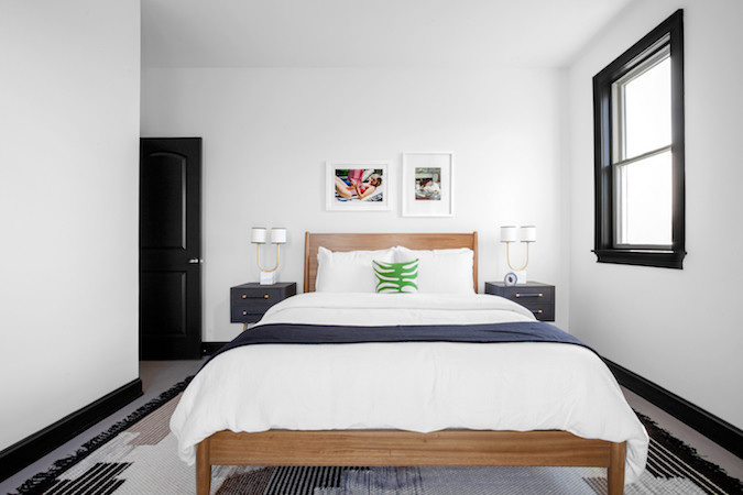 Hotel-worthy bed less is more