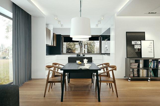 Points of interest interior design