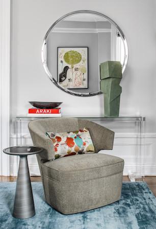 Donghia armchair