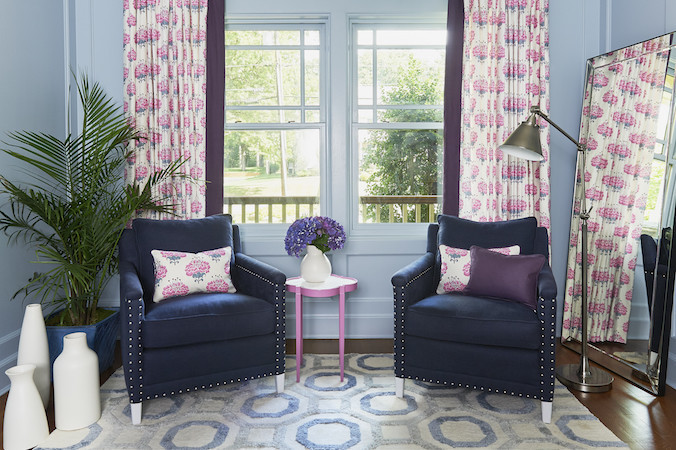Serena Lily armchair