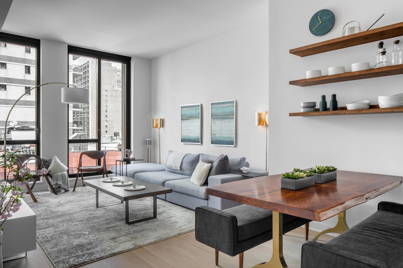 comfortable living room bumper sofa