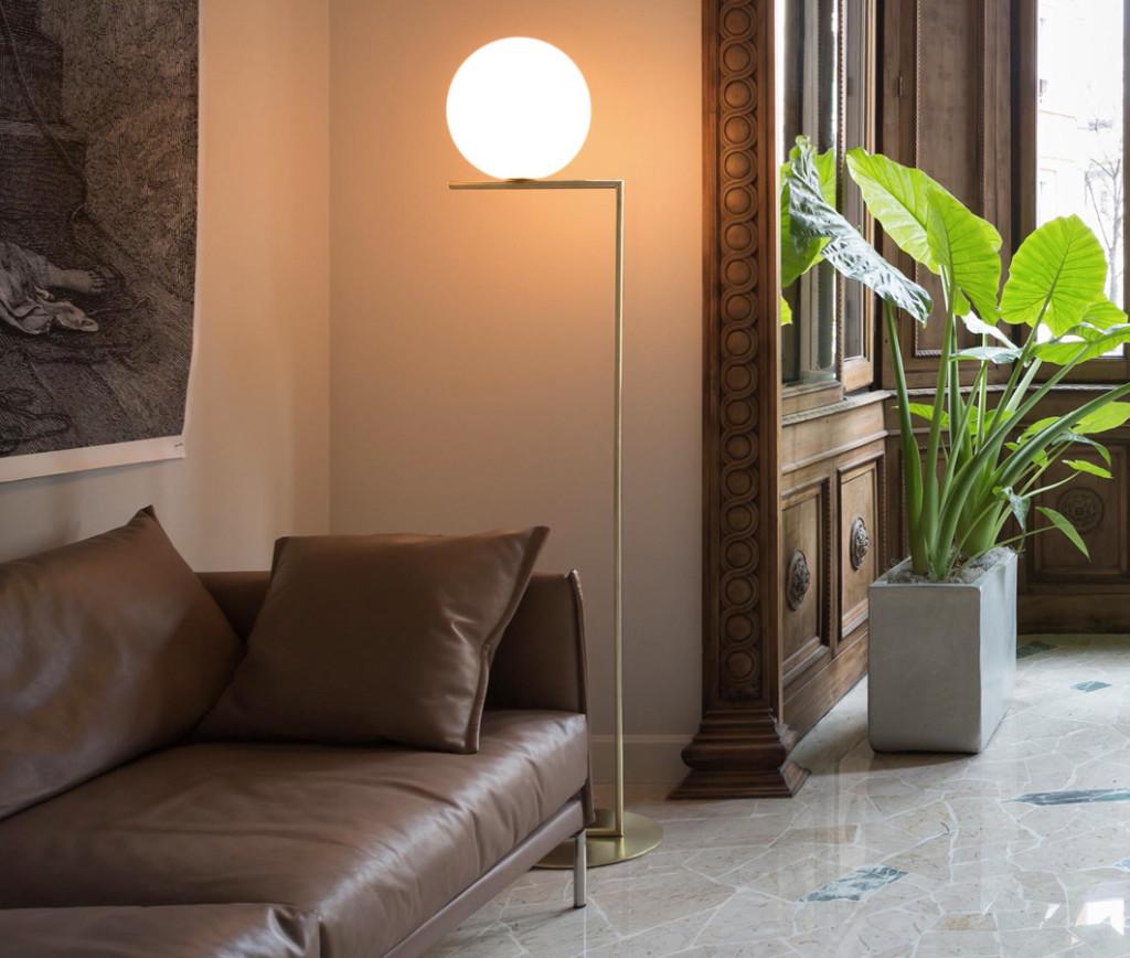 comfortable living room lighting