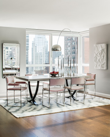 small dining room slim chairs