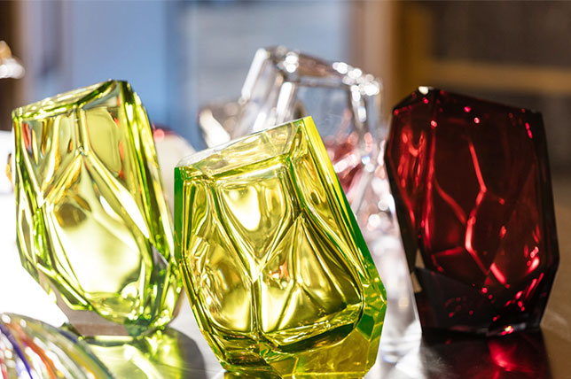 Design gifts crystal rock glassware