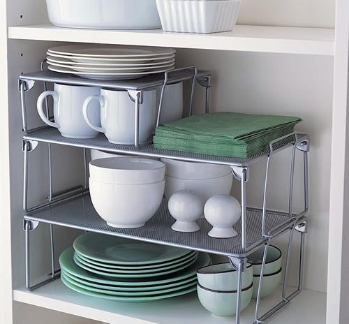 Kitchen organization riser