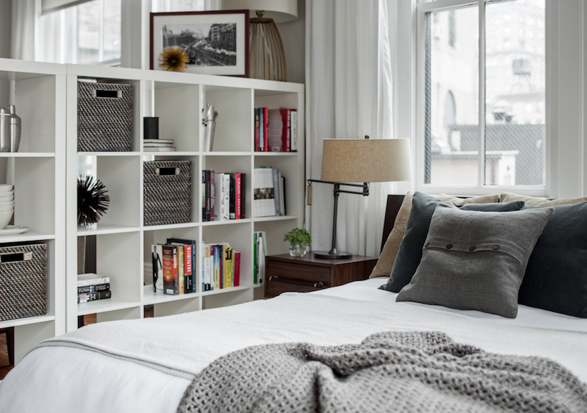 Storage solution bookshelf