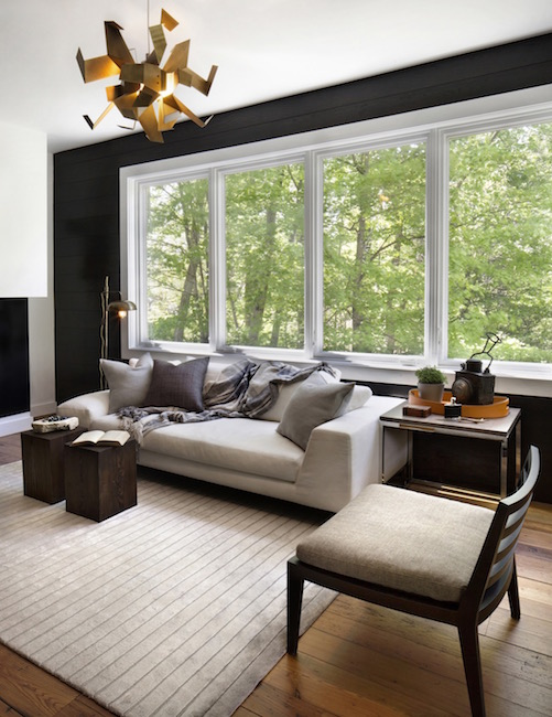 New England Colonial Family Room