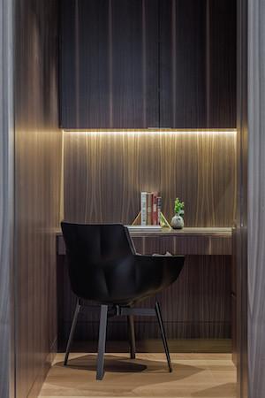 built-in strip lighting