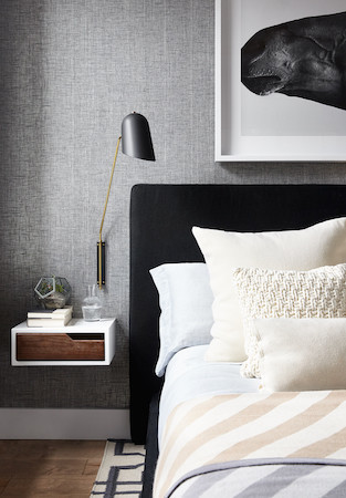 small bedroom tips floating side table