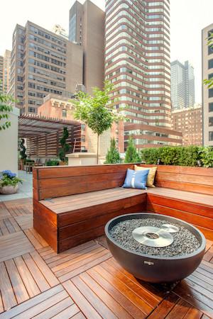 Summer home decor garden furniture