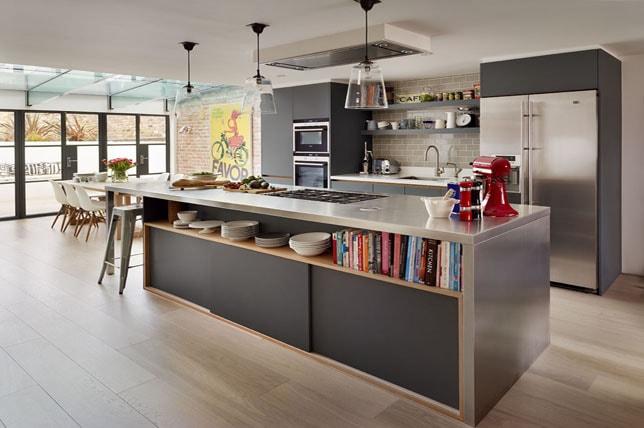 Open Floorplan Kitchen Remodeling Pictures