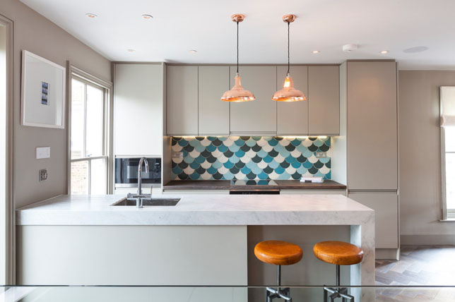 Bright trends in the renovation of small kitchens