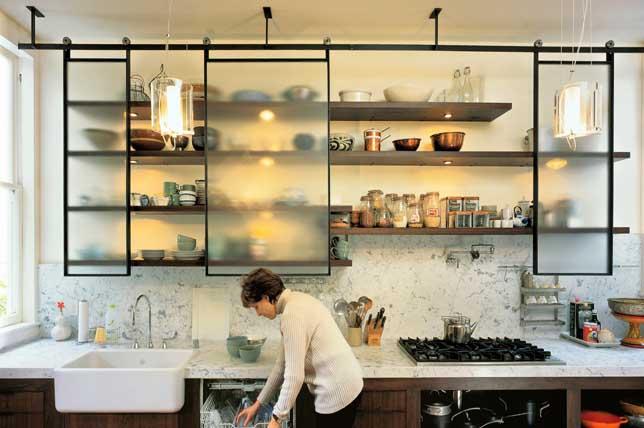 Stylish kitchens transform storage ideas