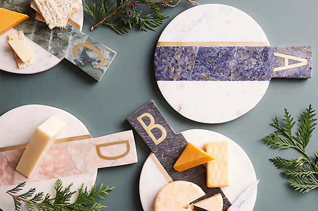 Agate cheese boards design gifts