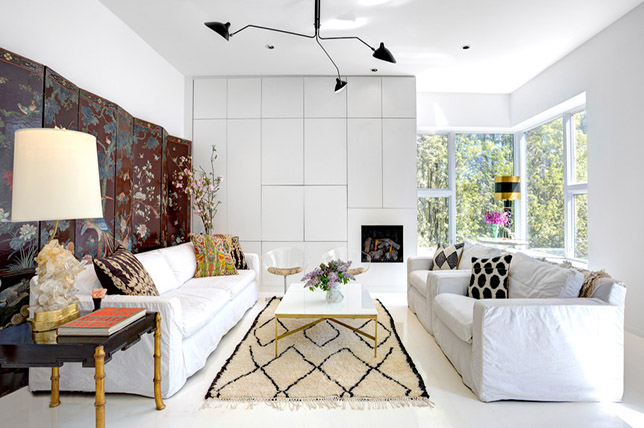 antique and modern furnishing style