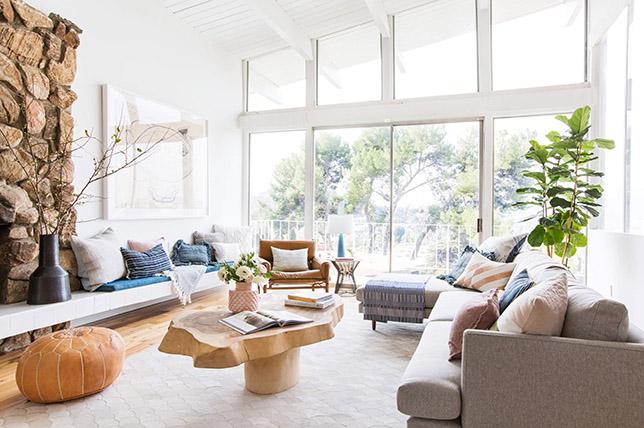 Summer furniture interior design