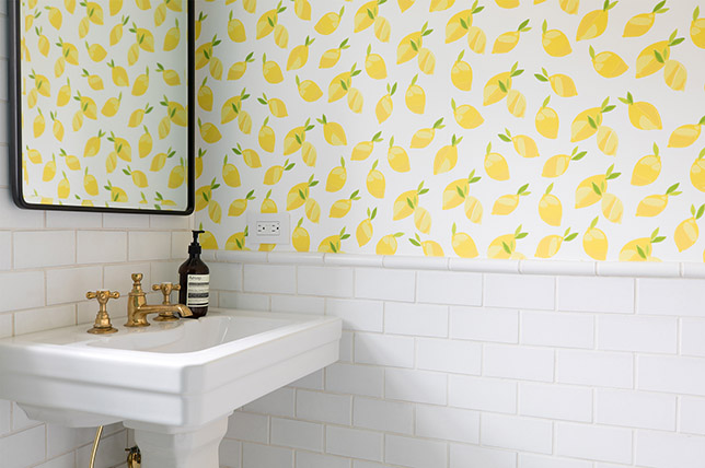 Wallpaper interior design trends