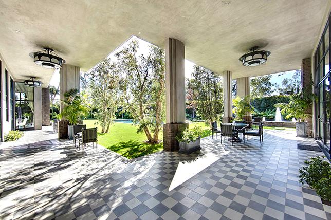 creative terrace floor