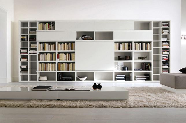 modern bookshelf decoration ideas