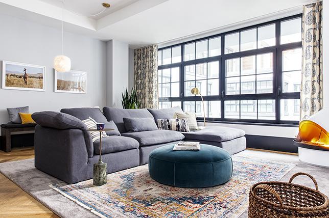 unique modern gray sofa inspiration