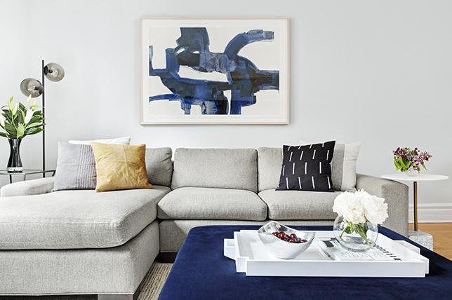 gray sofa decoration tips
