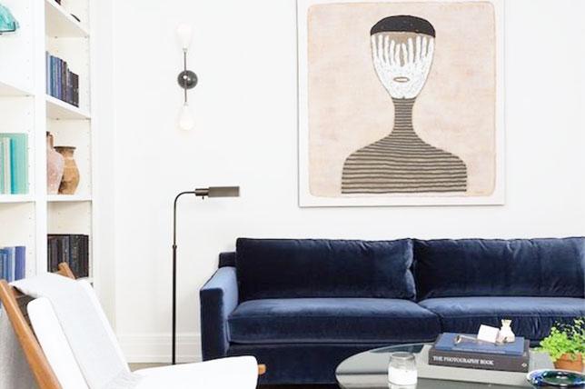 Velvet design trends