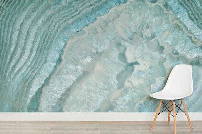 Agate wallpaper design trends