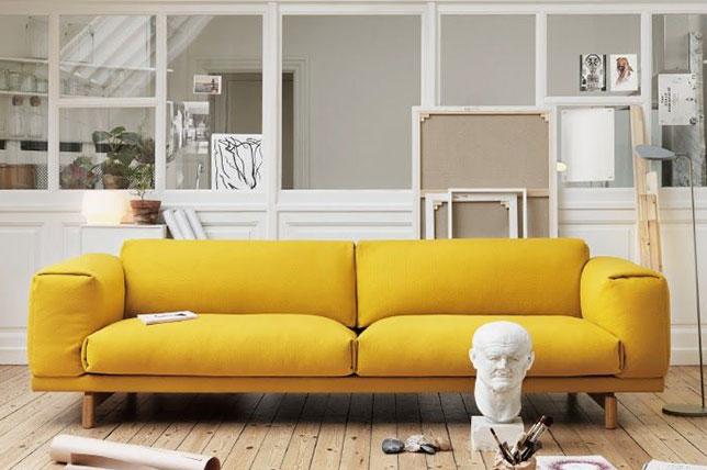 burnt yellow design trends