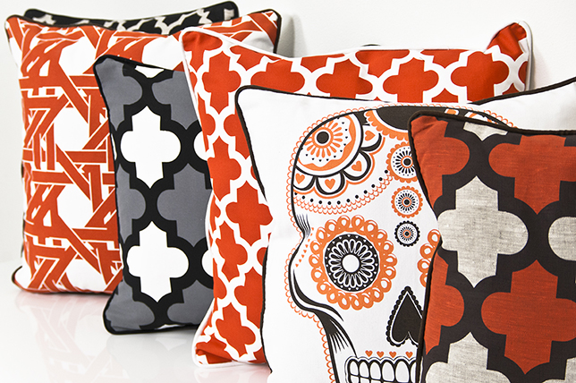 chic Halloween decoration ideas in modern colors