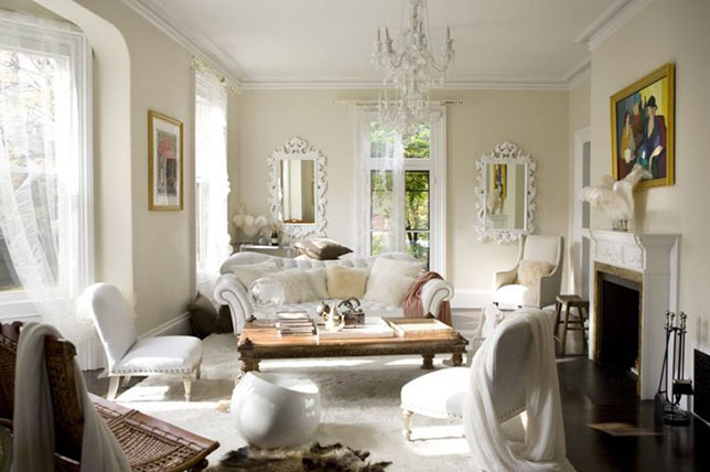 Shabby chic decor living room inspiration